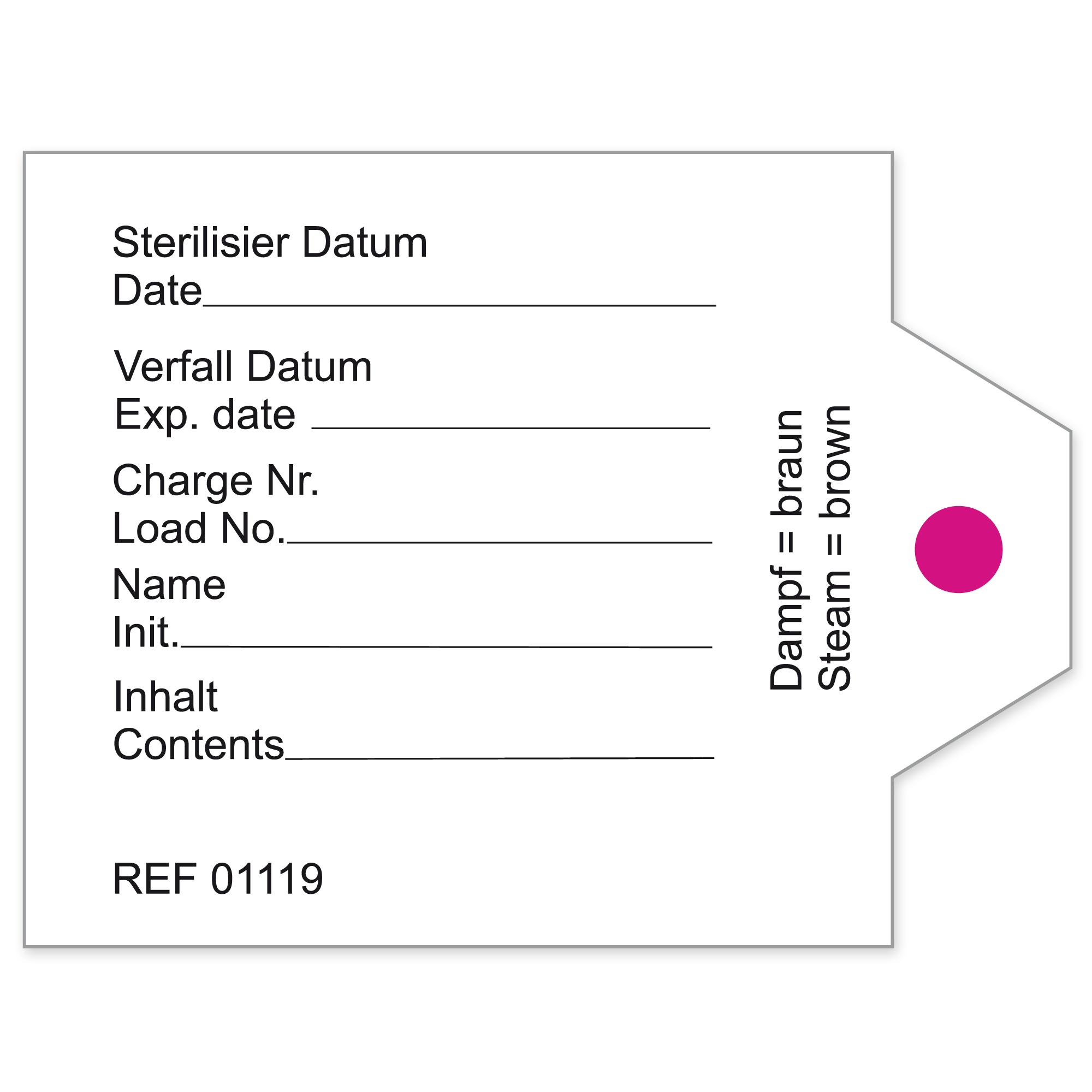 CONTAINER LABELS FOR MARTIN CONTAINERS Image