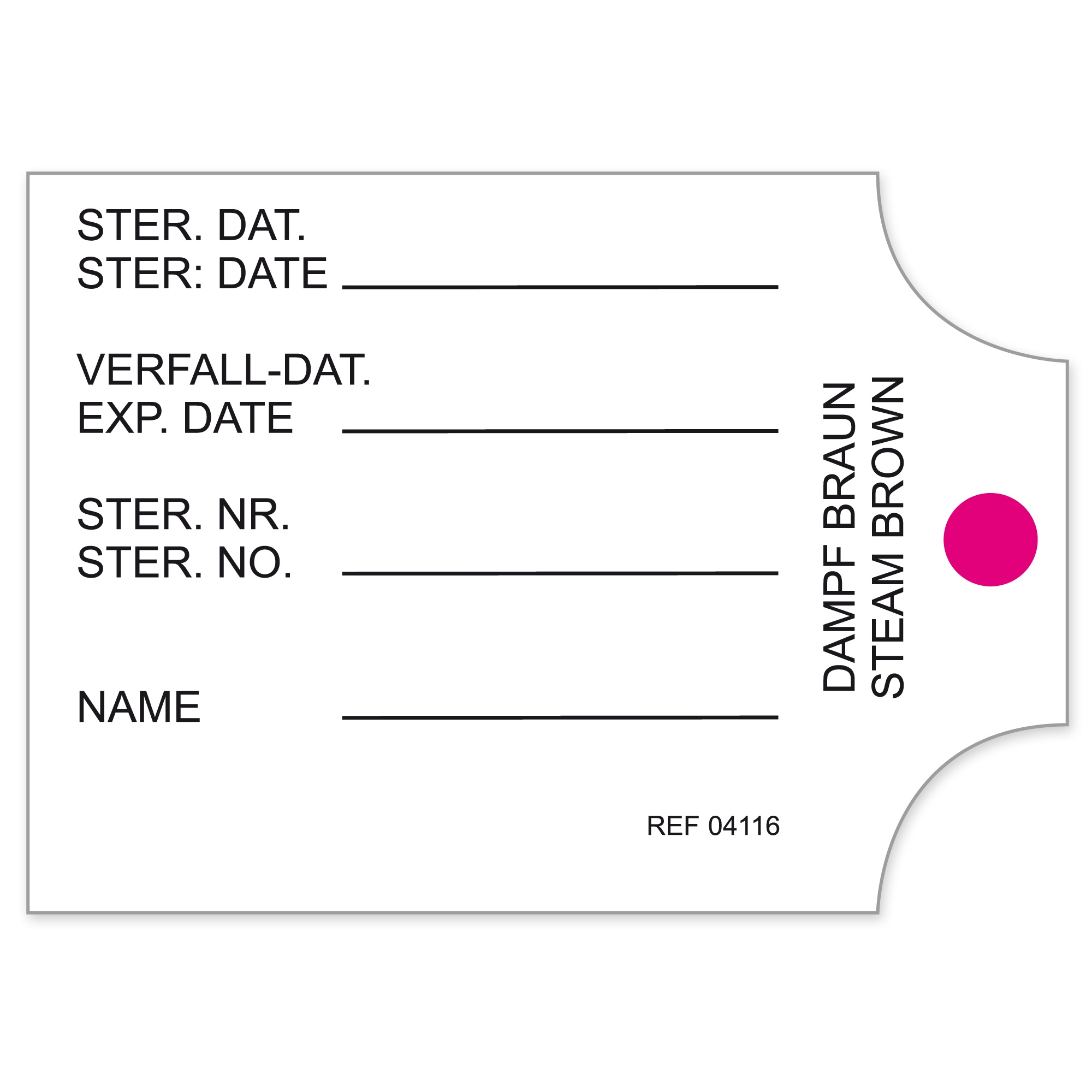 CONTAINER LABELS FOR CBM CONTAINERS Image