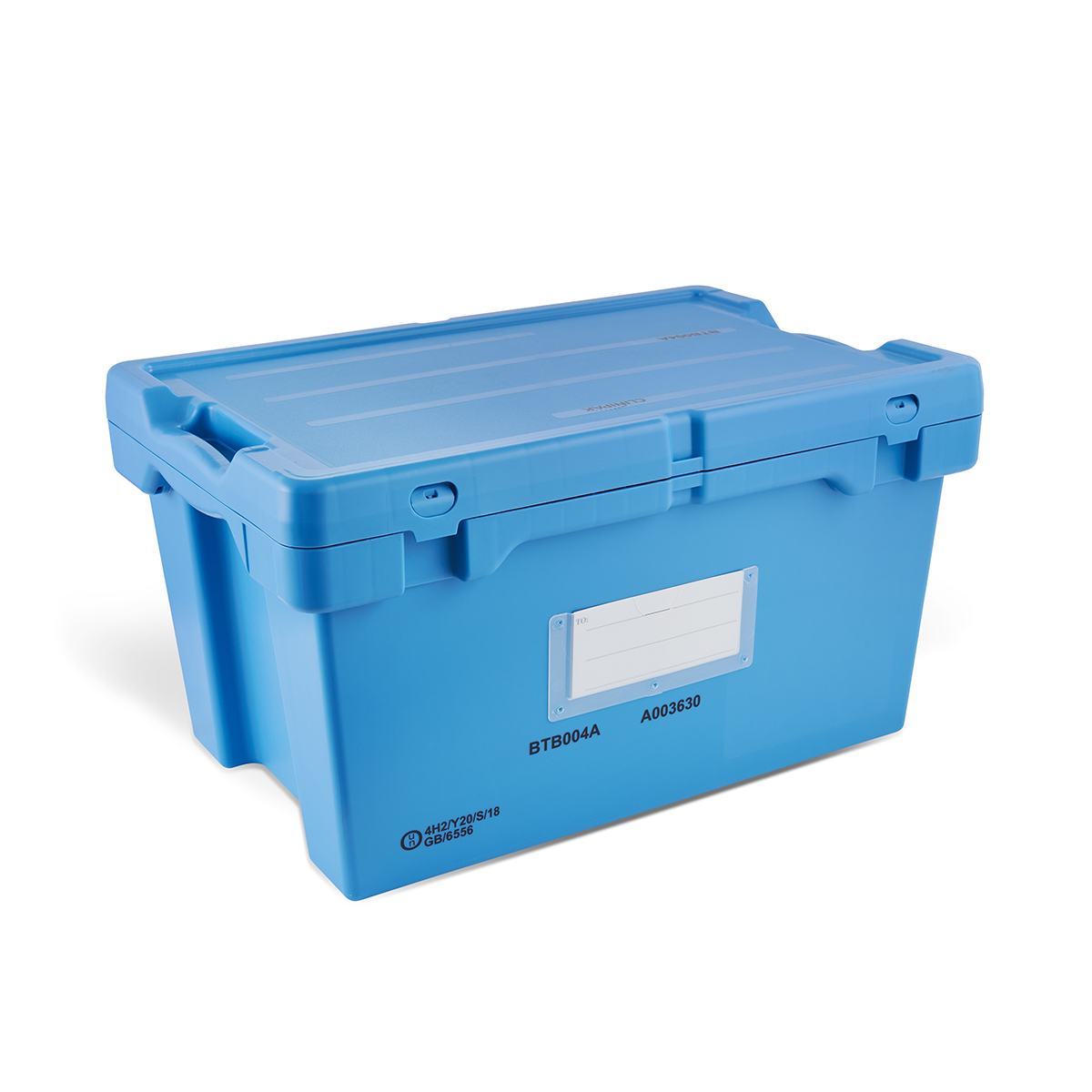 Blue Transportation Box Image