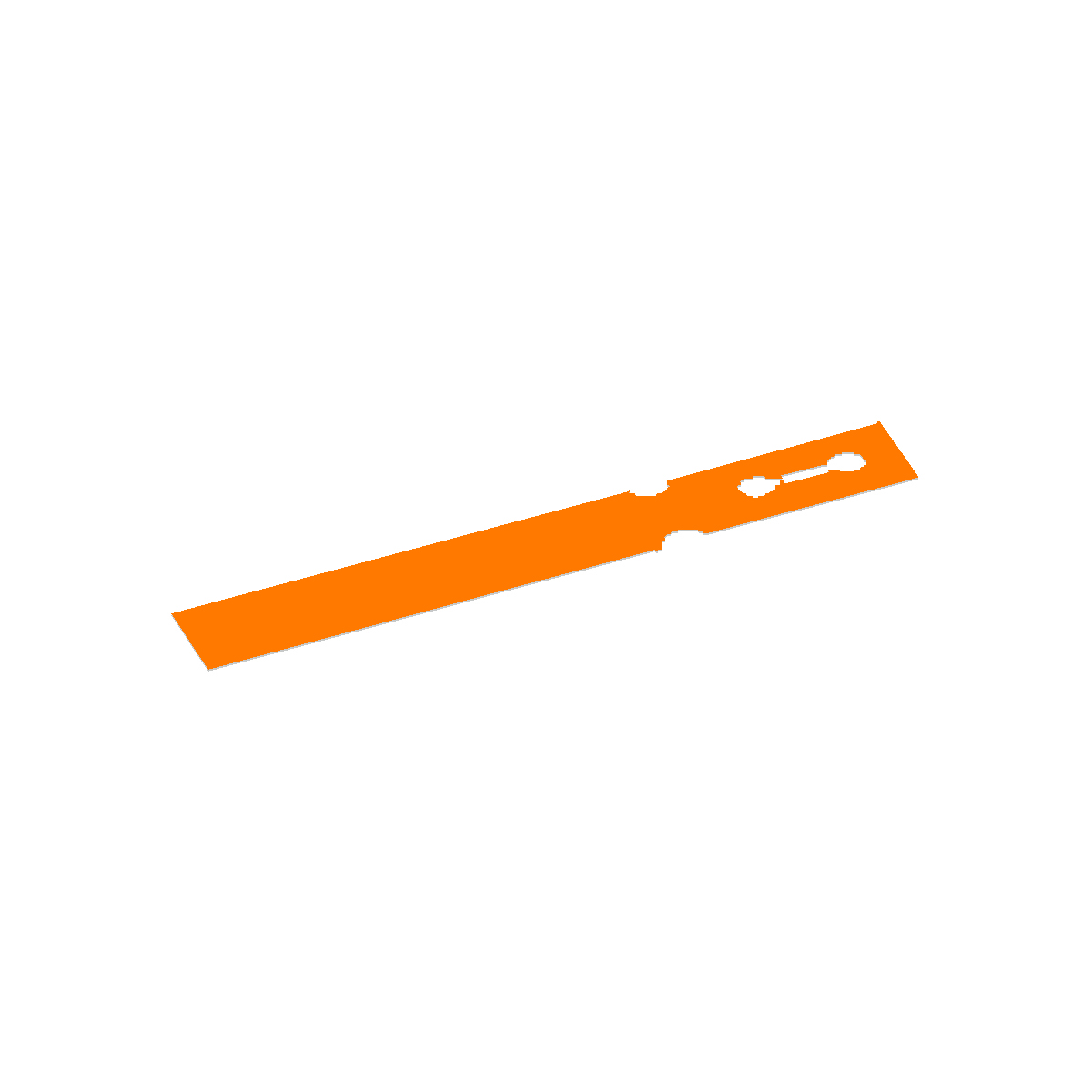 Orange Washer Tag Image