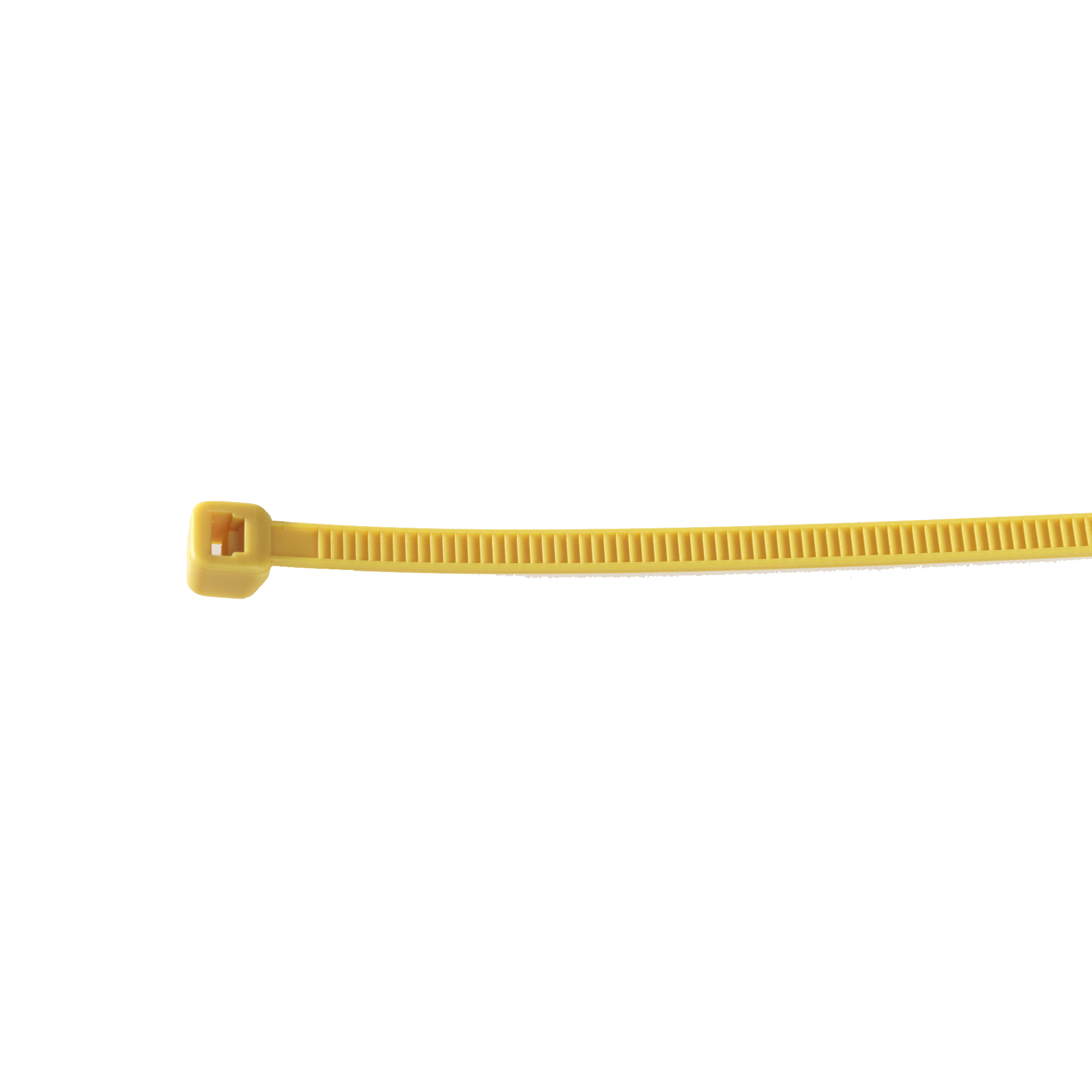 Large, Yellow Cable Tie Image