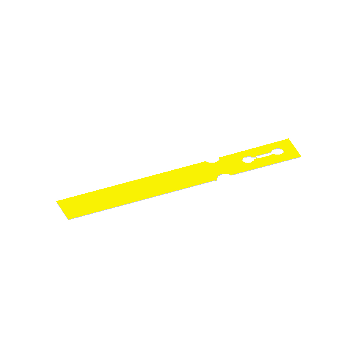 Yellow Washer Tag Image