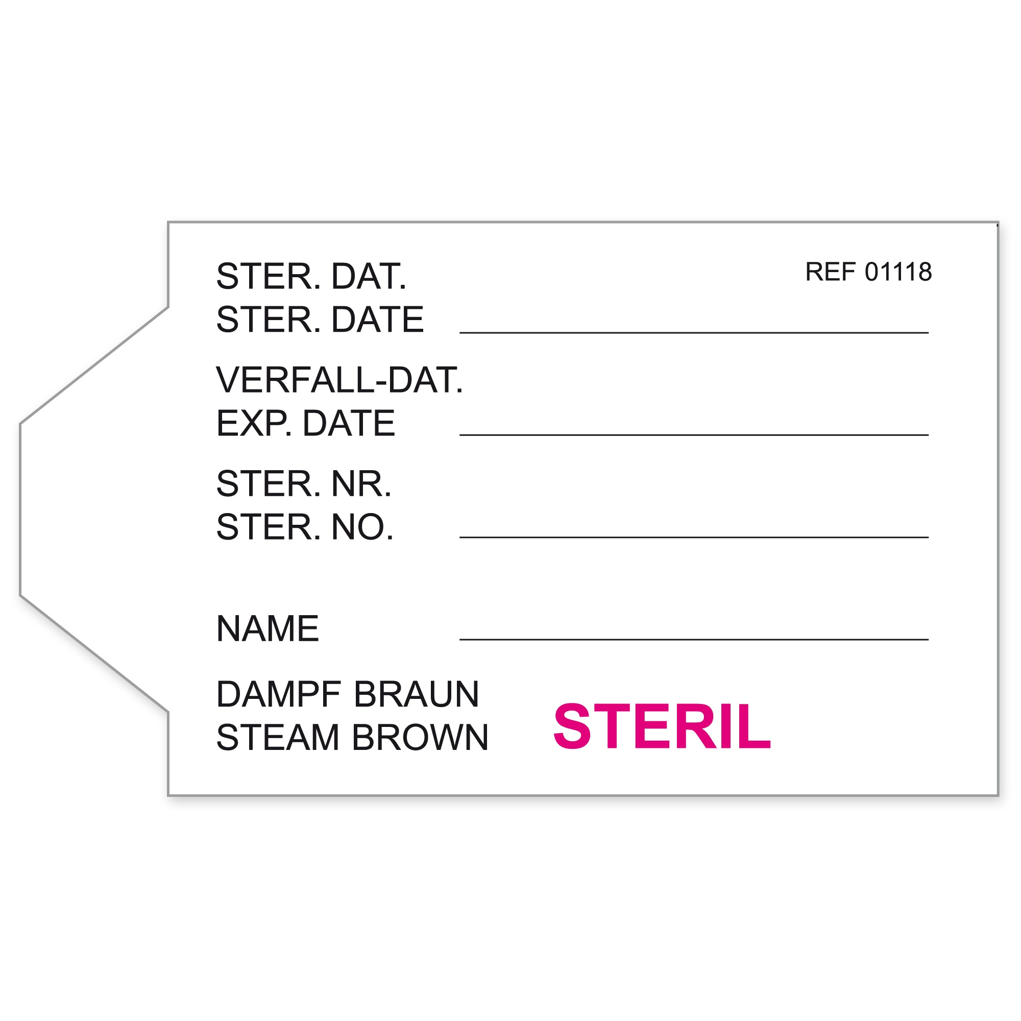 Container labels Image