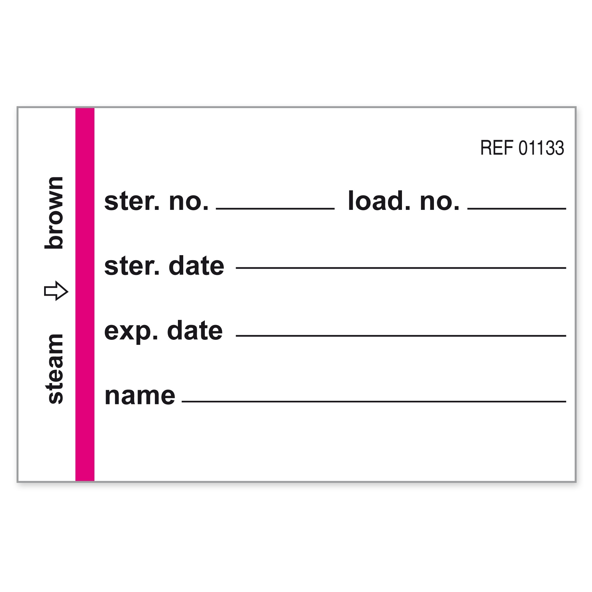 Container labels for Wagner containers Image
