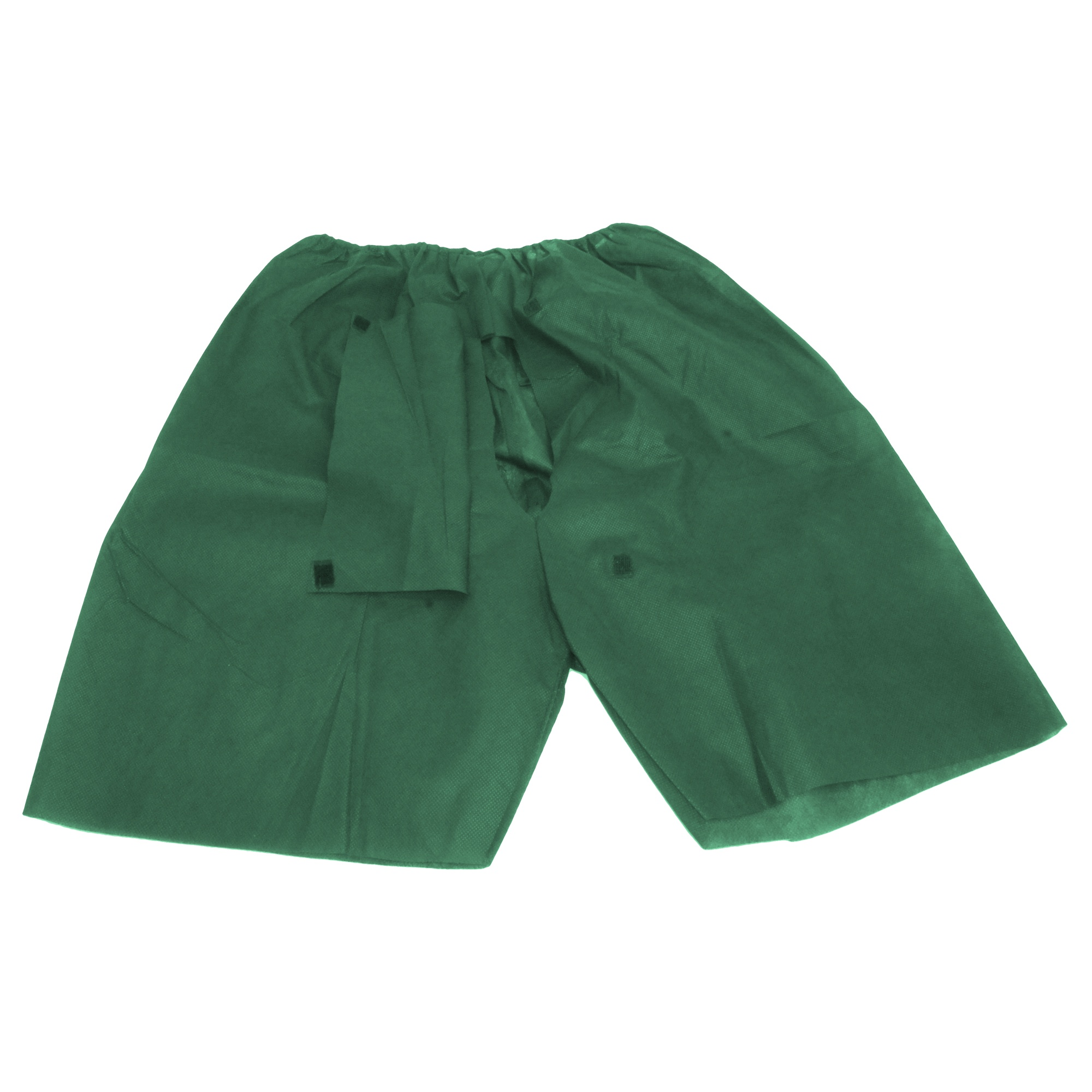 Colonoscopy pants with flap and Velcro Image
