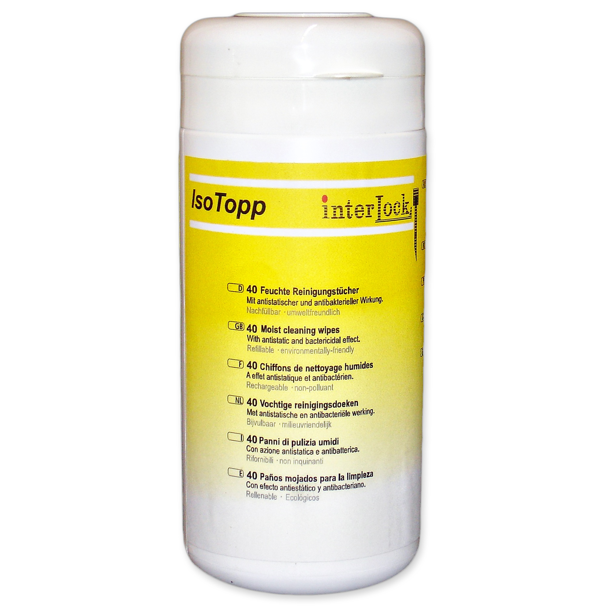 IsoTopp Surface Cleaner Wipes Image
