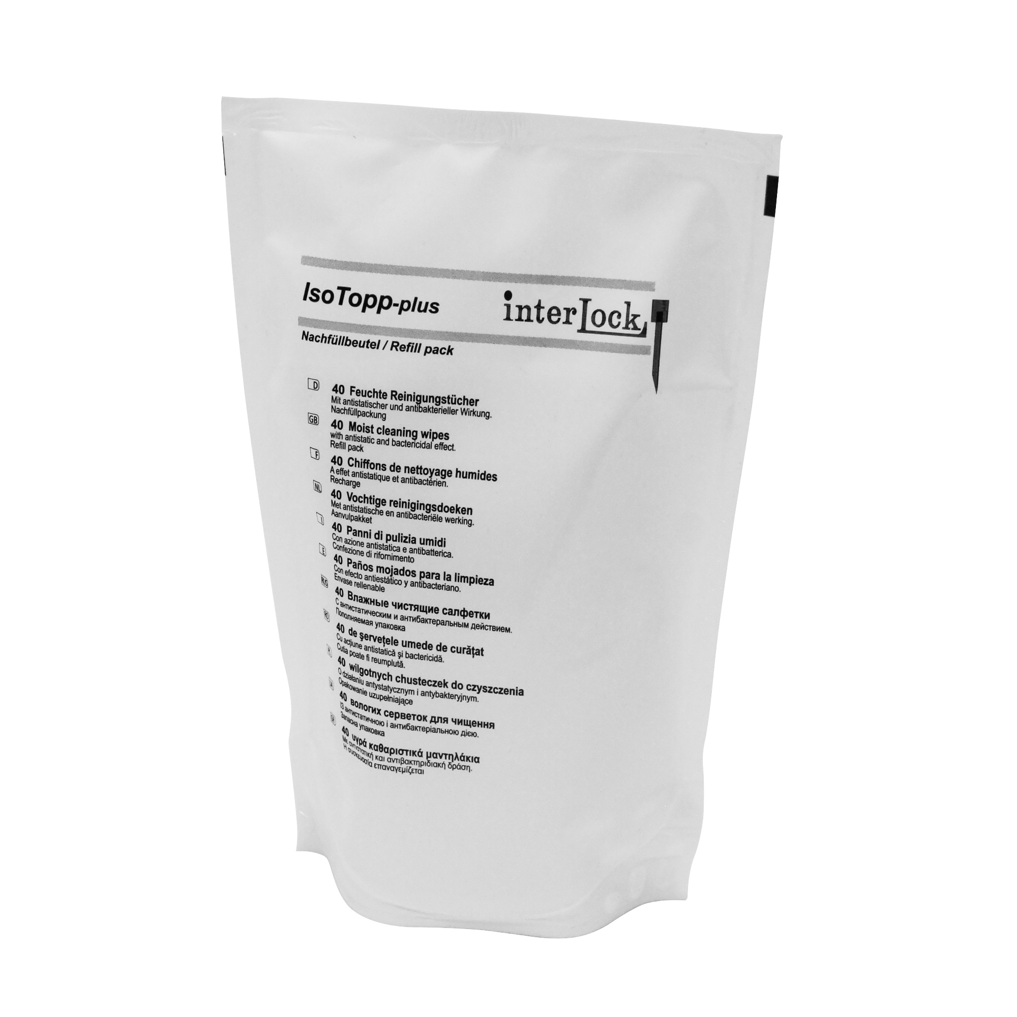 IsoTopp Surface Cleaner Wipes - Refill Pack Image