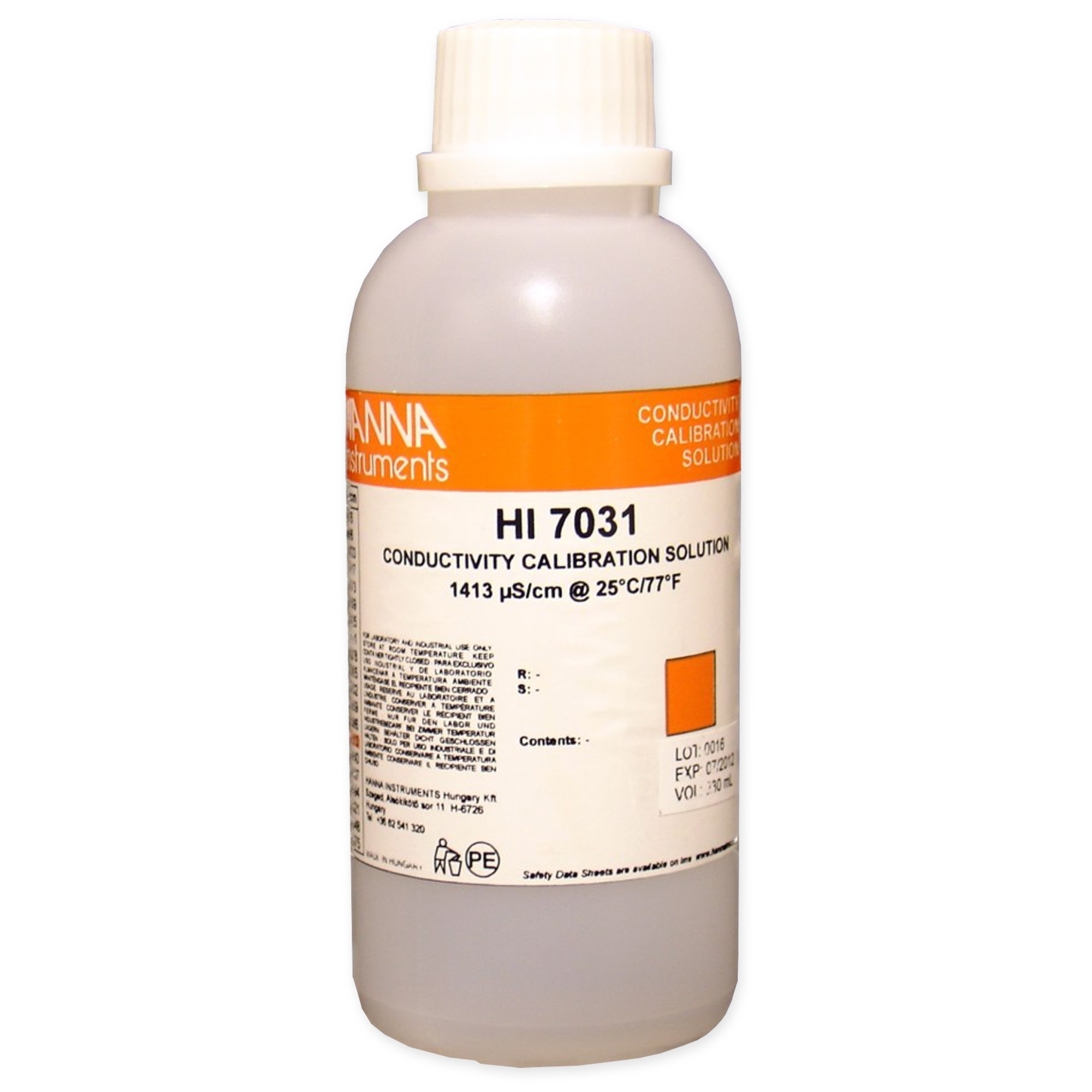 Conductivity calibration solution 1413 μS/cm Image