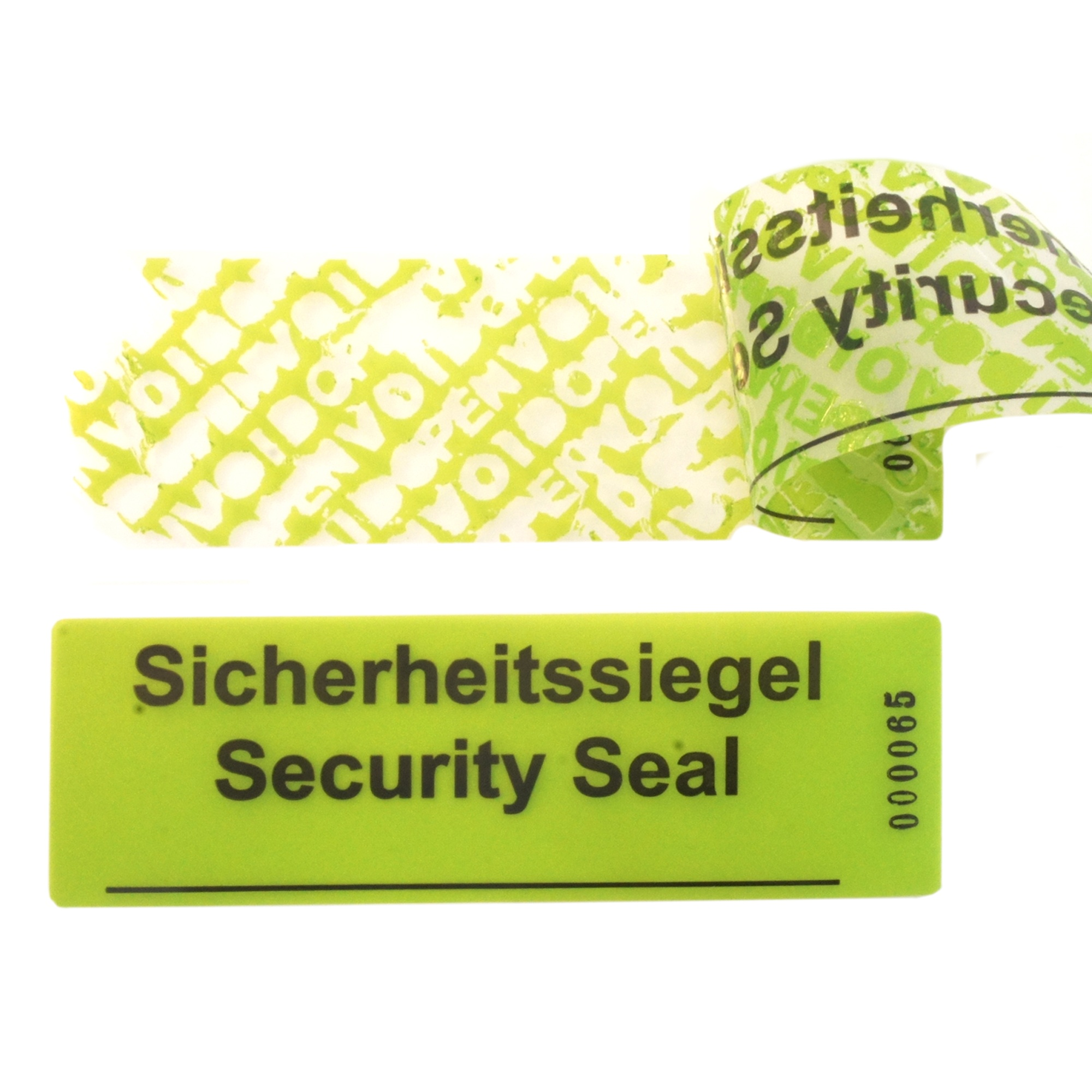 Security labels Image