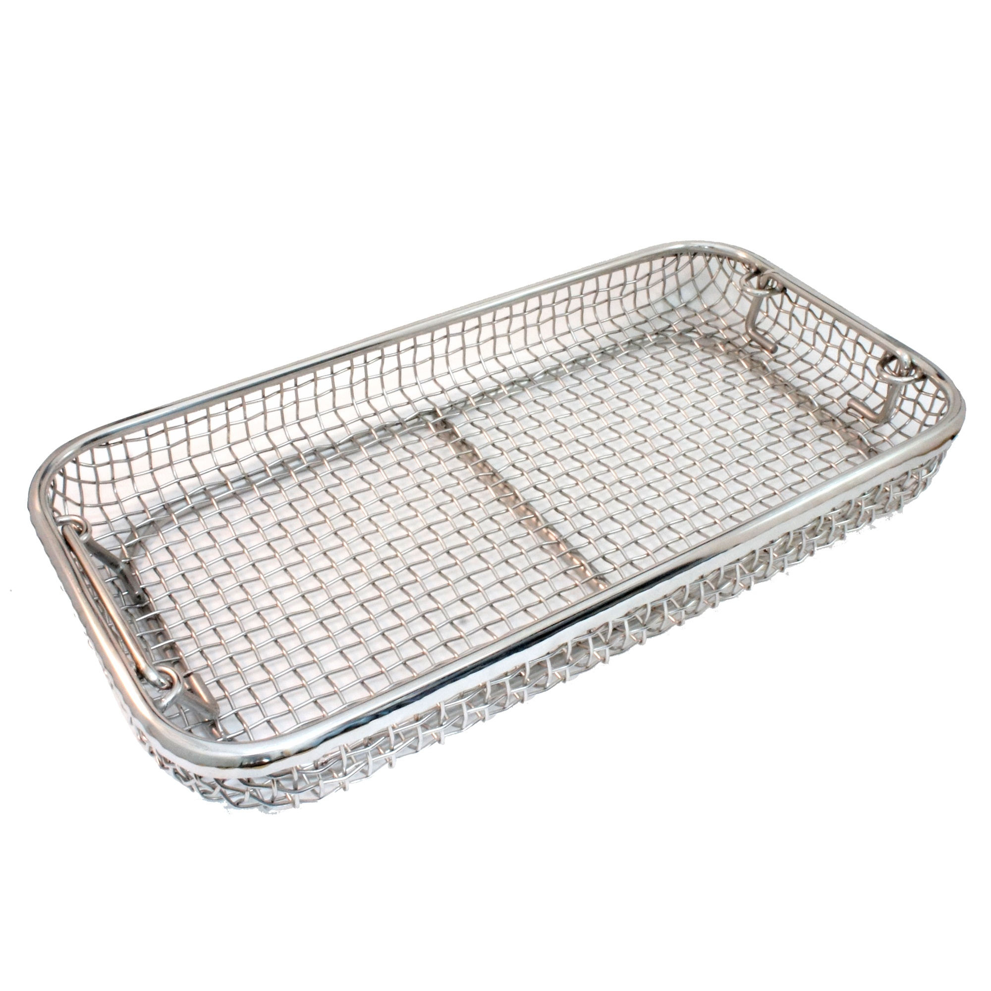 Mesh basket with handles Image