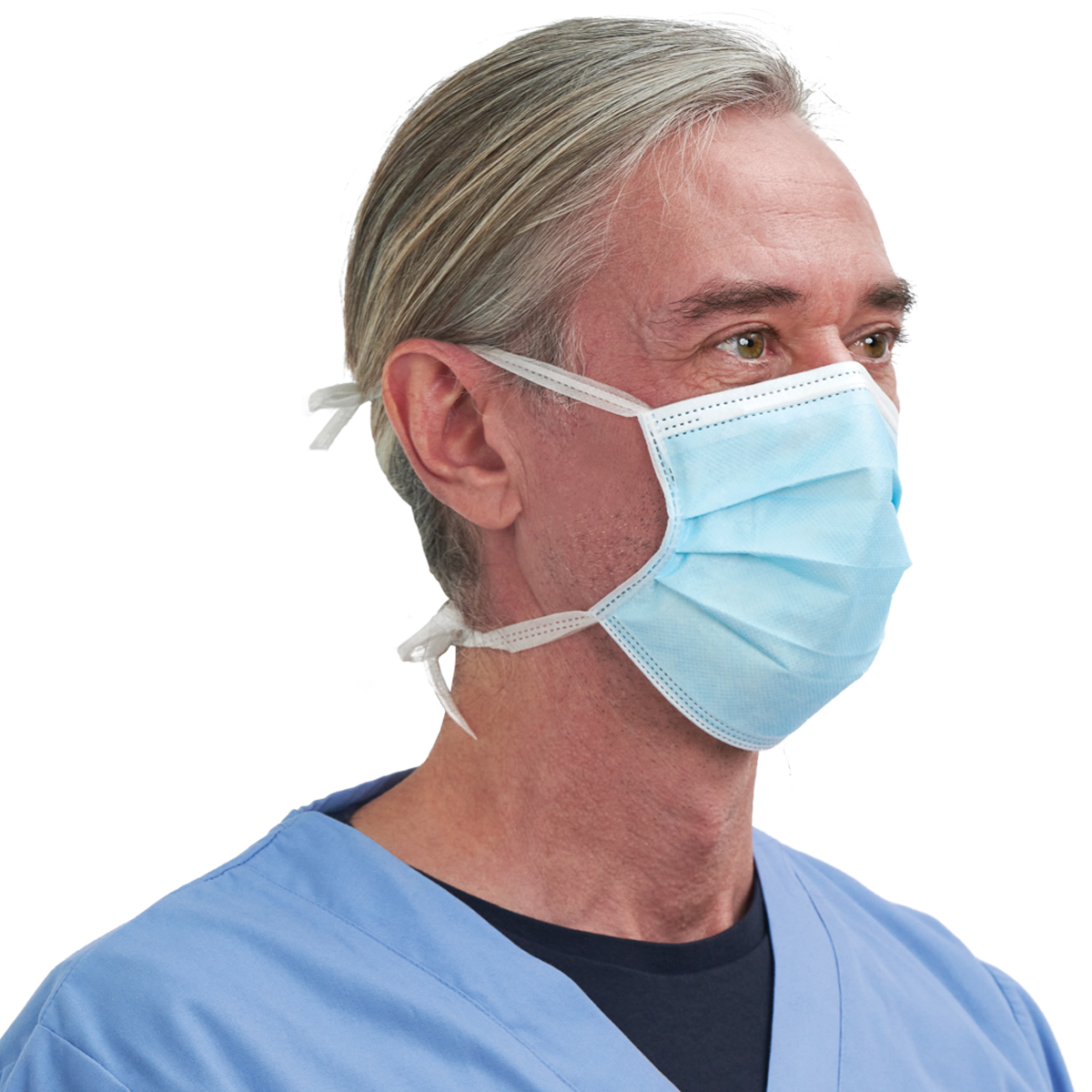 Surgical Face Mask, with Ties Image