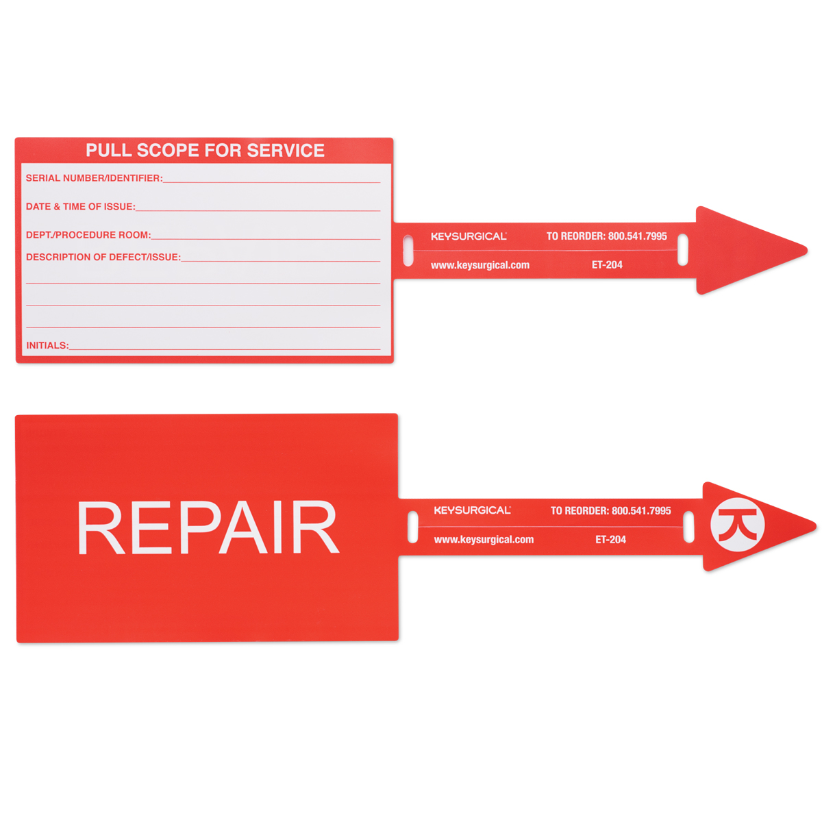 Scope Repair Tag Image