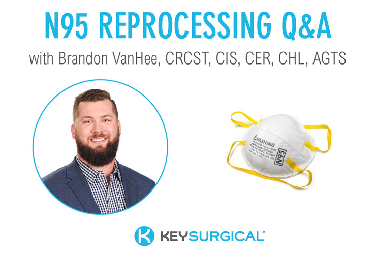Reprocessing N95 Masks: Q & A with Brandon VanHee